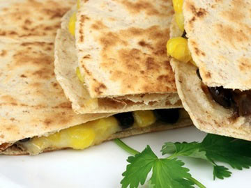 Black Bean & Corn Quesadilla
