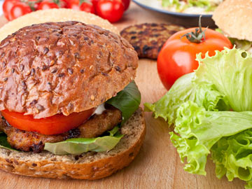 Cajun Burgers - Dietitian's Choice Recipe