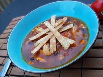 Chicken Tortilla Soup - Lactose Free