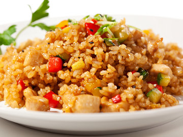 Fried Brown Rice - Diet.com