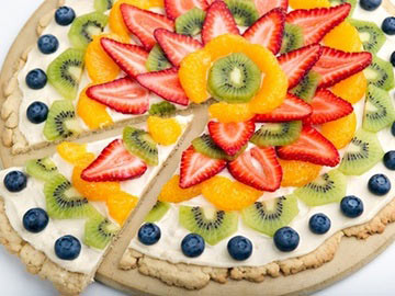Fantastic Fruit Pizza - Dietitian's Choice Recipe