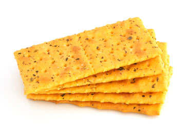 Coriander, Cumin and Caraway Crackers