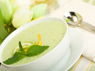 Melon-Lime Soup