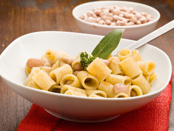 Mostaccioli and Beans