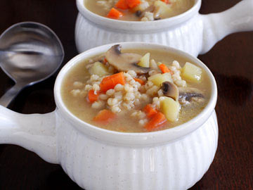 Mushroom Barley Soup - Dietitian's Choice Recipe
