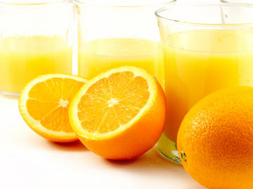 Oranges in Tangerine Juice