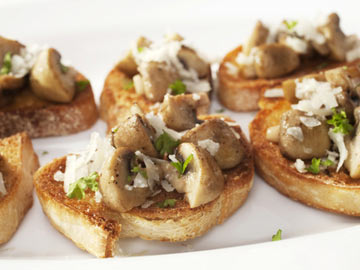 Portobello Bruschetta - Dietitian's Choice Recipe