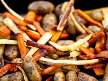 Roasted Root Veggies - Recipe Contest Winner