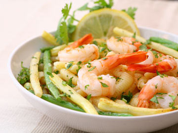 Pasta, Peas and Shrimp Salad - Dietitian's Choice Recipe