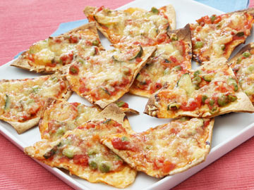Veggie Tortilla Pizzas - Dietitian's Choice Recipe