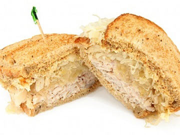 Turkey Reuben - Diet.com