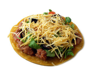 Vegetarian Tostada - Dietitian's Choice Recipe