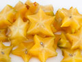 Broiled Star Fruit