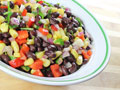 Marinated Black Bean