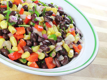 Bean, Corn and Tomato Salad - Dietitian's Choice Recipe