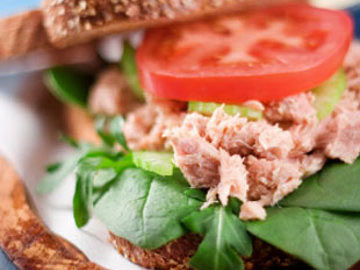 Apple Tuna Sandwich - Dietitian's Choice Recipe
