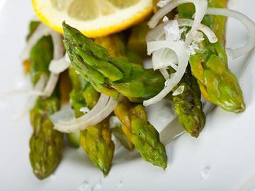 Asparagus Salad with Lemon Soy Vinaigrette