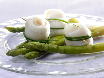 Asparagus with Sole