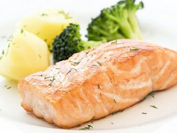 BBQ Baked Salmon