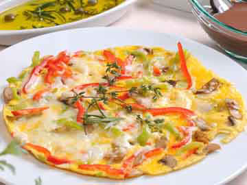 Red and Yellow Pepper Omelets- Dietitian's Choice Recipe