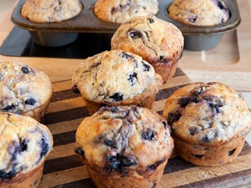 Low-fat Blueberry Muffin - Dietitian's Choice Recipe