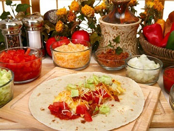 Breakfast Burrito with Salsa - Dietitian's Choice Recipe