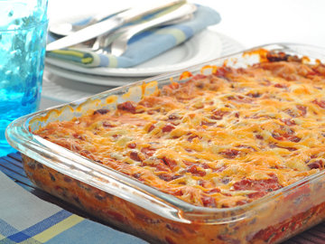 Creamy Chicken Tortilla Casserole