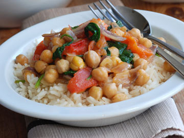 Chickpea and Spinach Curry - Dietitian's Choice Recipe