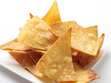 Healthy Chile Lime Tortilla Chips Recipe