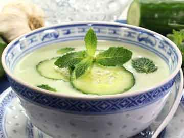 Cool Herbed Cucumber Soup