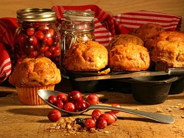 Cran-Pumpkin Muffins - Dietitians Choice