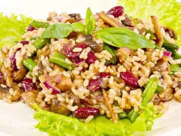 Cranberry Vegetable Risotto