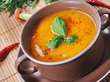 Curried Date Carrot Soup