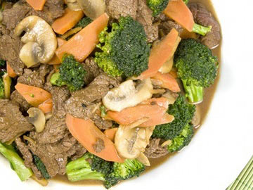 Asian Ginger Beef and Vegetable Stir-fry