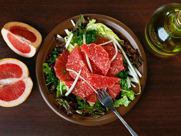 Baby Greens Salad with Grapefruit recipe