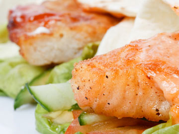Grilled Salmon Wraps - Dietitian's Choice Recipe