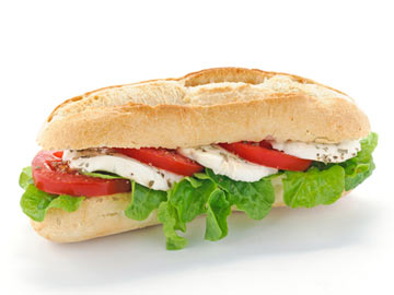 Hot Italian Sandwich - Dietitian's Choice Recipe