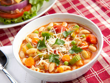 Mighty Minestrone Soup - Dietitian's Choice Recipe