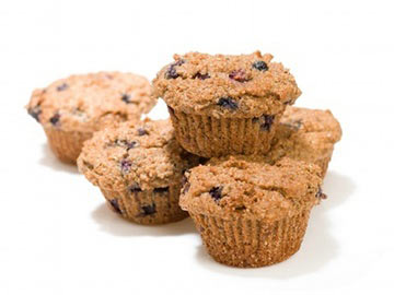 Banana-Cherry Oat Bran Muffins - Dietitians Choice