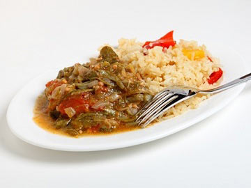 Okra with Rice and Beans - Dietitian's Choice Recipe