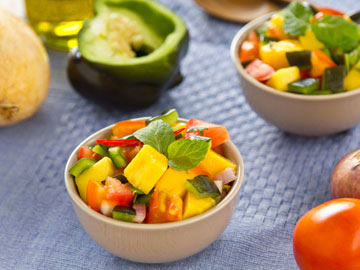 Papaya Pineapple Salsa
