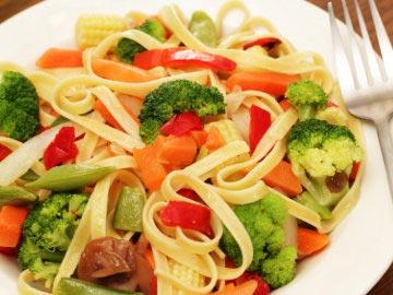 Vegetarian Pasta Primavera Recipe