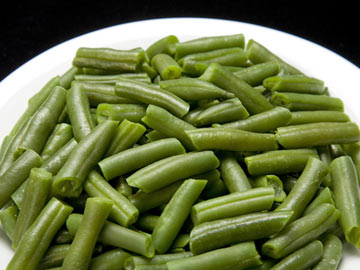 Roasted Green Beans with Sea Salt