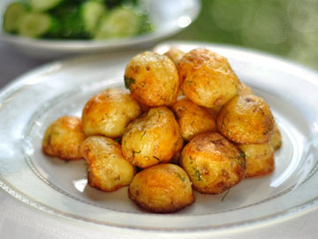 Low Fat Roasted New Potatoes