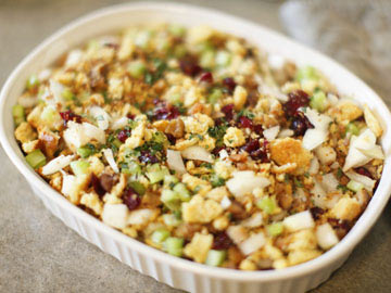 Sausage Corn Bread Stuffing - Dietitian's Choice Recipe