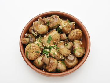 Sauteed Mushrooms with Lemon and Parmesan