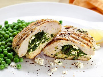 Chicken Stuffed with Ricotta and Spinach