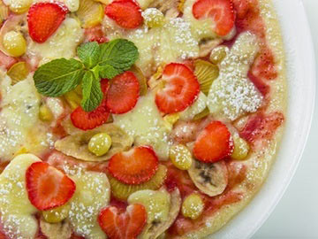 Sweet Pizza - Dietitian's Choice Recipe