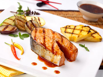 Teriyaki and Pineapple Salmon