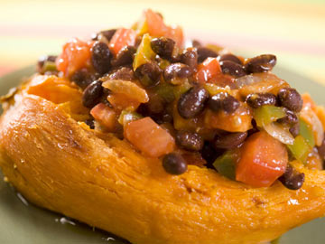 Tex-Mex Stuffed Sweet Potato